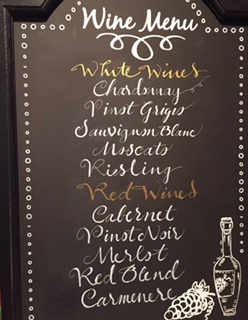 Chalk Boards are the Rage, Add One to your Event for a 'must have' personal touch